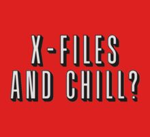 X-Files and Chill by subject13fringe