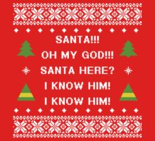 Santa! I know him! by Hanna Taylor