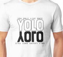 YOLO much? Unisex T-Shirt