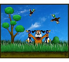 Duck Hunt! Photographic Print