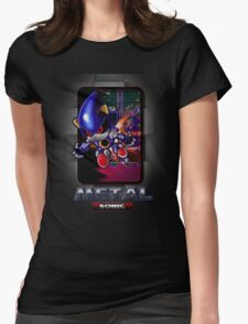 Metal Sonic Womens Fitted T-Shirt