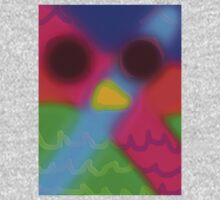 psychedelic owl  Kids Clothes
