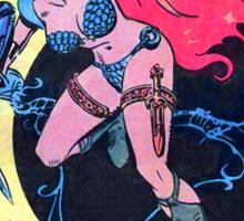 Red Sonja Sticker