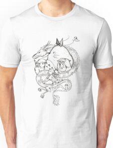 Miyazaki mash up Unisex T-Shirt