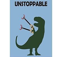 t-rex, dinosaur Photographic Print