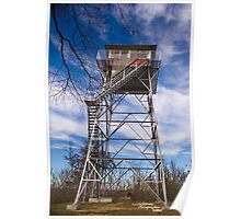 PInnacle Knob Fire Tower Poster