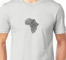 Africa Fingerprint Unisex T-Shirt