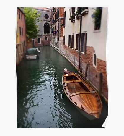 venetian sidestreet Poster
