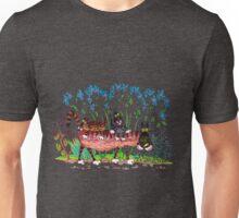Kittyback ride Unisex T-Shirt