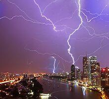 Multiple Exposure | Lightning III by NickVerburgt