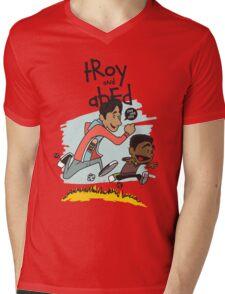 Troy + Abed Mens V-Neck T-Shirt