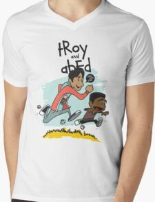 Troy + Abed Mens V-Neck T-Shirt