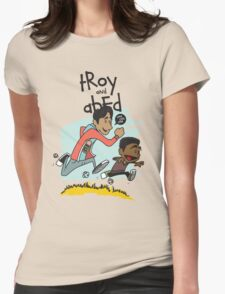 Troy + Abed Womens Fitted T-Shirt