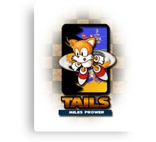 Tails Miles Prower Canvas Print
