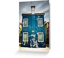 Burano, Venice Greeting Card