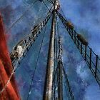 Southern California Nautical  by Celeste Mookherjee