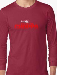 GET TO THE CHOPPA - Predator Parody  Long Sleeve T-Shirt