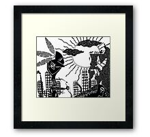 Victory @ Big Chief Mountain Framed Print