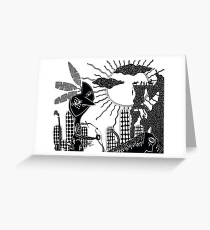 Victory @ Big Chief Mountain Greeting Card