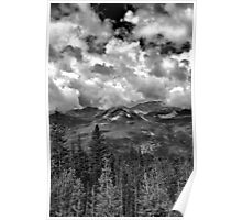 Never Summer Mountains Poster