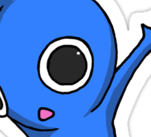 Blue Jumping Pikmin Sticker