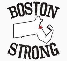 Boston Strong Arm Kids Tee