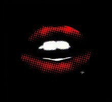 KISS KISS RED LIPS by PASLIER Morgan