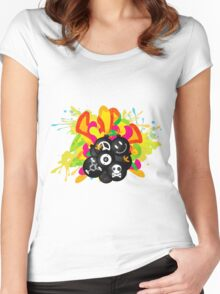 Tic_Tac_Bomb Women's Fitted Scoop T-Shirt