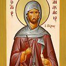 St Anastasios the Persian by ikonographics