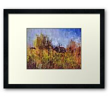 One Dutch moment Framed Print