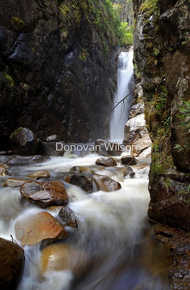 Little River Falls   by Donovan wilson