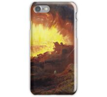 John Martin, The Destruction of Sodom and Gomorrah,  iPhone Case/Skin