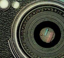 Fuji X100 camera looking a bit older Sticker