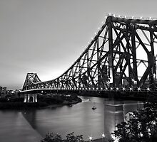 Story Bridge in B&W by artistrobd