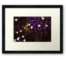 Pollinating  Framed Print