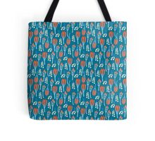 Summer colorful pattern with buds and berries Tote Bag