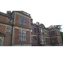 National Trust Sudbury Hall, Derbyshire Photographic Print