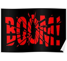 Cartoon BOOM by Chillee Wilson Poster
