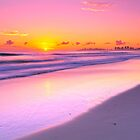 Coral Sea Sunrise Queensland by Dean Prowd Panoramic Photography