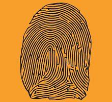 Fingerprint Maze Unisex T-Shirt