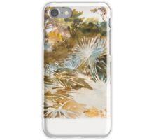 John Singer Sargent, Landscape with Palmettos iPhone Case/Skin