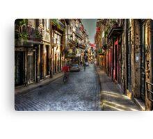 Porto Street Canvas Print