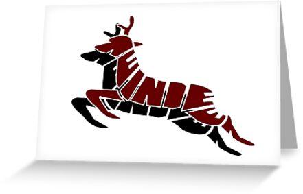 Reindeer by creativecamart