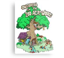 100 Acre Woods Outbreak Metal Print