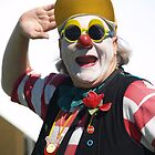 Clowning at a community fair, Unley, South Australia by indiafrank