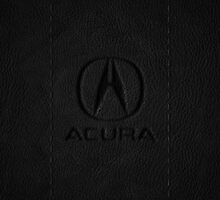 Acura - dark leather by TheGearbox