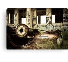 Wrecked Canvas Print