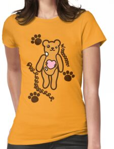 The stuffed toy of the bear Womens Fitted T-Shirt