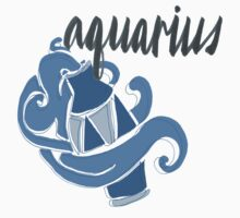 Aquarius Horoscope Design Baby Tee
