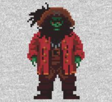 LeChuck the Undead Pirate Pixel by cocolima
